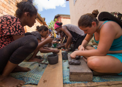 Madagascar - Androvakely, poterie