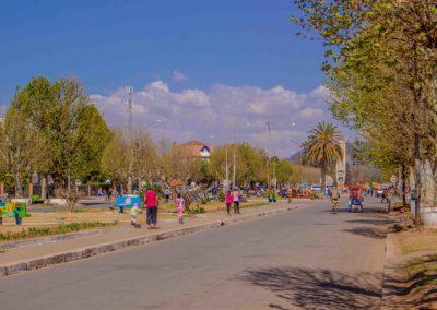 Antsirabe - avenue de l'Indépendance