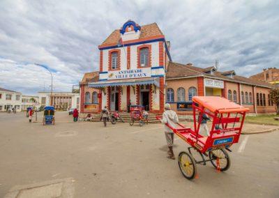 Antsirabe - devant la poste
