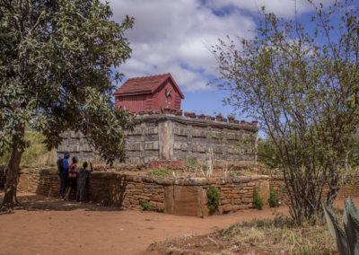 Madagascar - Betafo, tombeau royal