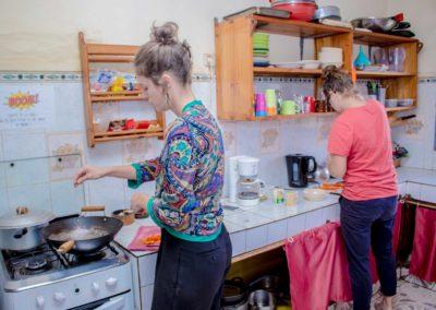 Maison de Dago - cuisine