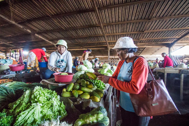 Madagascar - Antsirabe, marché