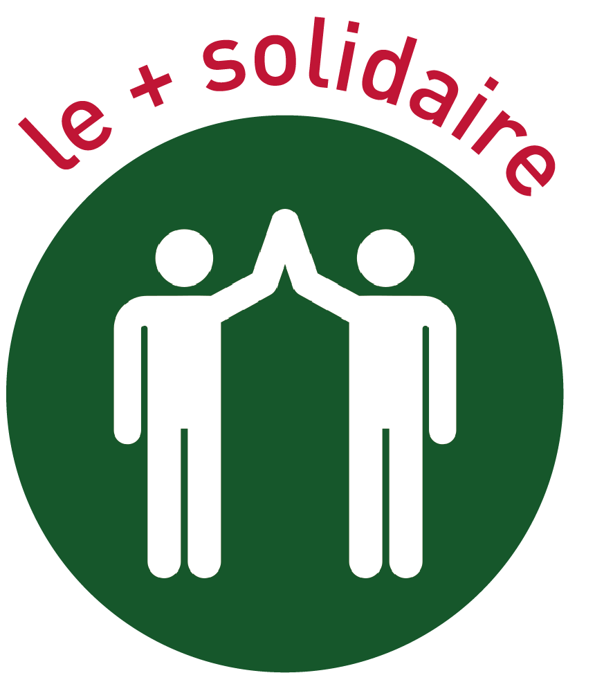 Le + solidaire
