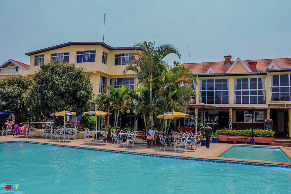 Madagascar - Antananarivo, Hotel les flots bleus