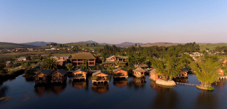 Madagascar - Fianarantsoa, Lac Hotel