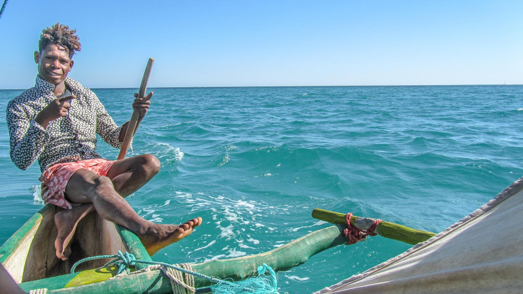 Madagascar - Mangily Ifaty, pirogue