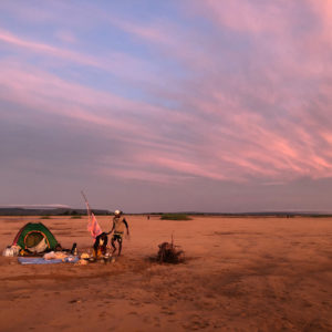 Madagascar - Tsiribihina, Lever de soleil en bivouac