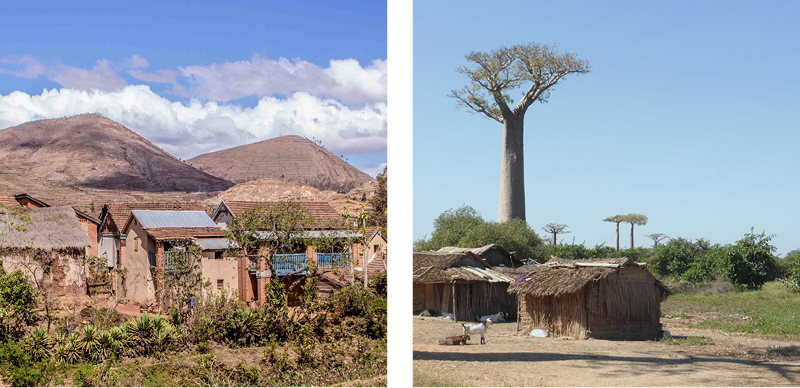 Madagascar - des Hautes Terres à l'ouest